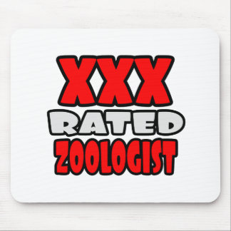 XXX Rated Zoologist Mouse Pad