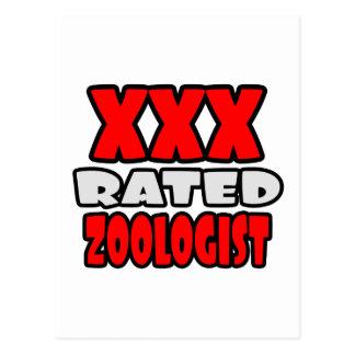 XXX Rated Zoologist Postcard