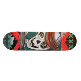 XXX Skeleton Pirate Skateboard