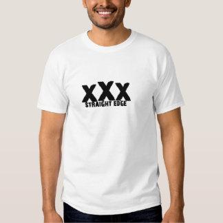 xXx Straight Edge T Shirt