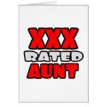 XXX tía clasificada Felicitación