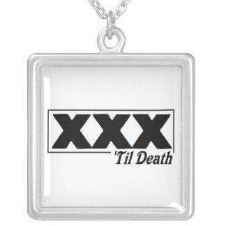 XXX 'til Death necklace
