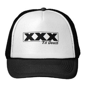 XXX 'til death Trucker hat