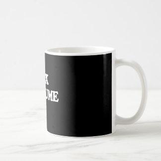 XXX TRAJE - TAZA DE CAFÉ
