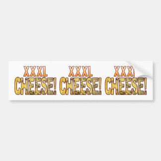 XXXL Blue Cheese Bumper Sticker