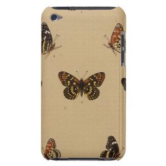 XXXVII Synchloe Melitaea iPod Touch Case-Mate Protectores