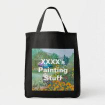 XXXX's Painting Stuff Tote Bag