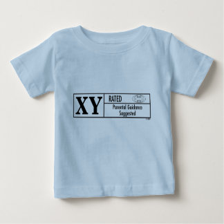 XY Rated Baby T-Shirt
