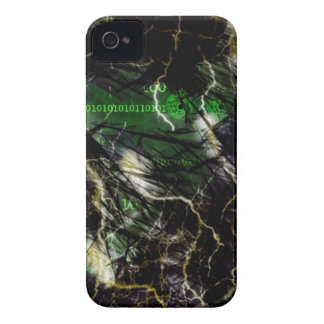 XyberSpace Chaos iPhone 4 Case-Mate Case