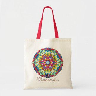 Xycon Namaste Kaleidoscope Budget Tote Bag