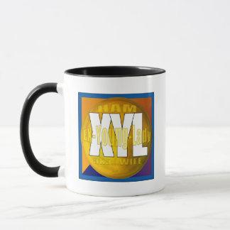 XYL HAM RADIO OPERATOR EX YOUNG LADY WIFE MUG