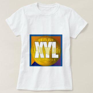 XYL HAM RADIO OPERATOR EX YOUNG LADY WIFE T-Shirt