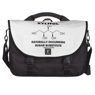 Xylitol Naturally Occurring Sugar Substitute Laptop Bags
