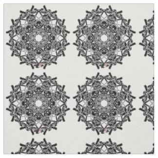 Xylographic Octa Glyph Fabric
