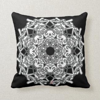 Xylographic Octa Glyph Pillow