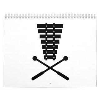 Xylophone Calendar
