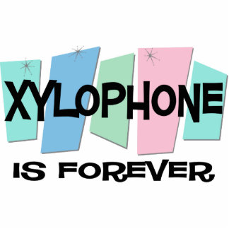 Xylophone Is Forever Photo Sculpture Ornament