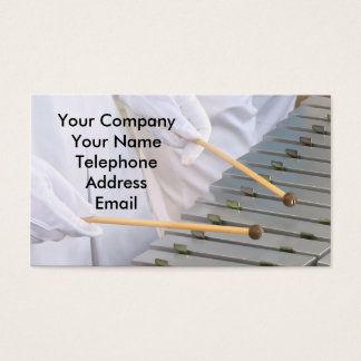 Xylophone or Marimba Players Business Card