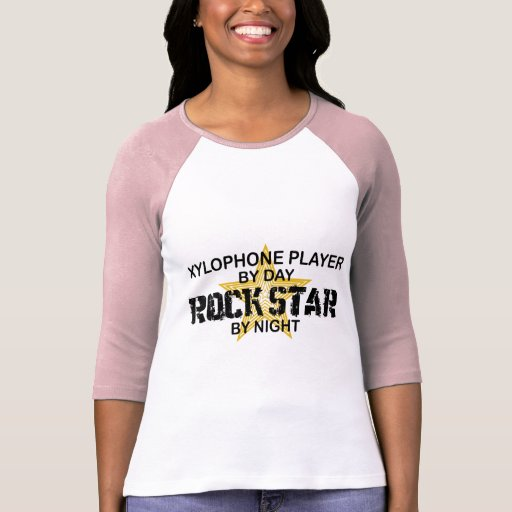 Xylophone Rock Star by Night T-Shirt
