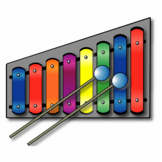 Xylophone Standing Photo Sculpture
