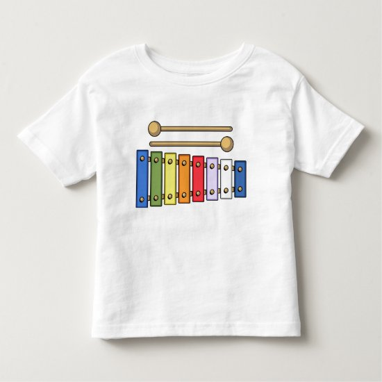 XYLOPHONE TODDLER T-SHIRT