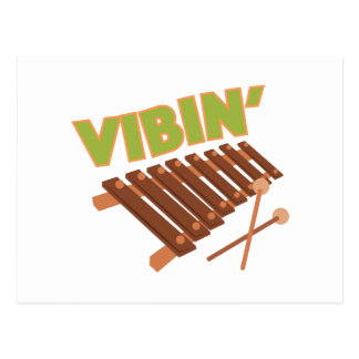 Xylophone Vibin Postcard