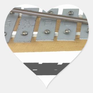 XylophoneInstrument061615 Heart Sticker
