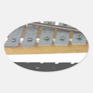 XylophoneInstrument061615 Oval Sticker