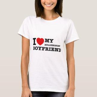 Xylophonist Boyfriend Designs T-Shirt
