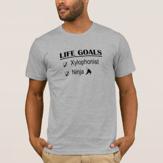 Xylophonist Ninja Life Goals T-Shirt