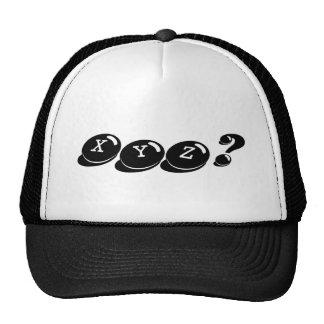 XYZ? Hat