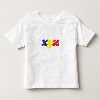 xyz Toddler Gear Toddler T-shirt