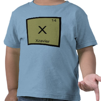 Xzavier Name Chemistry Element Periodic Table T-shirt