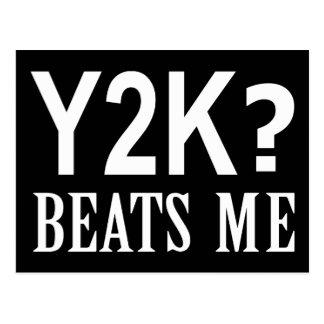 Y2K me bate Postales