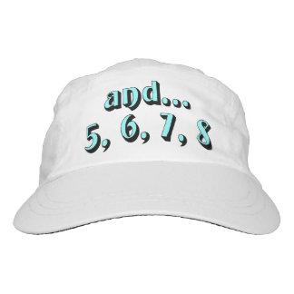 y… 5, 6, 7, 8 gorra de alto rendimiento