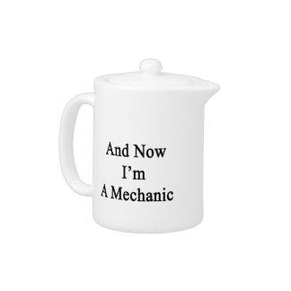 Y ahora soy mecánico