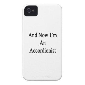 Y ahora soy un Accordionist.png iPhone 4 Case-Mate Funda
