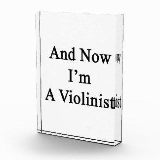 Y ahora soy violinista