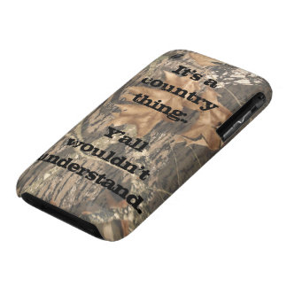 Y all Wouldn t Understand Camo Phone Case Case-Mate iPhone 3 Case