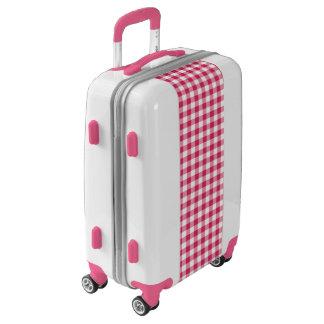 Y blanca modelo comprobado guinga rosada maletas