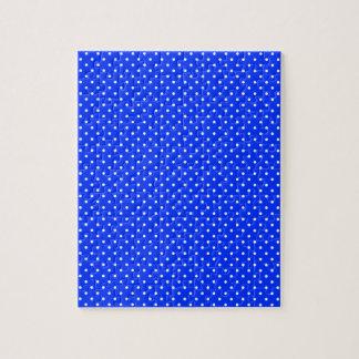 Y-Blanco-Polca-Puntos de la Azul-Luz Rompecabeza Con Fotos