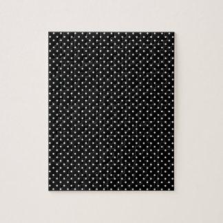 Y-Blanco-Polca-Puntos negros Rompecabeza Con Fotos
