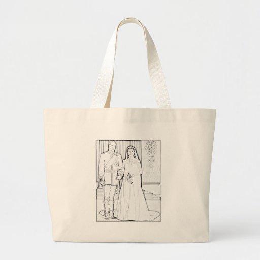 Y boda del kate bolsa de mano