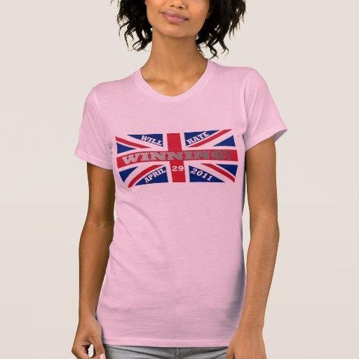 Y camiseta que gana de Kate