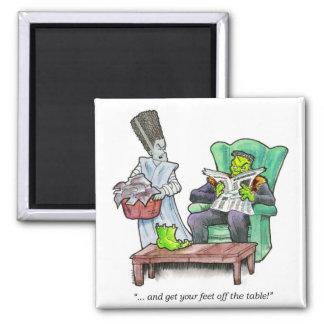 ¡ … y consiga sus pies de la tabla imán para frigorifico