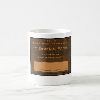 Y Ddragi Fach Crew Label Coffee Mug