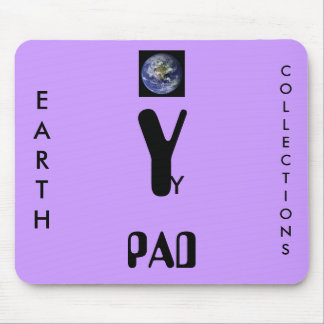 Y, EARTH, COLLECTIONS, PAD MOUSE PAD