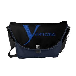 Y - El alfabeto de Falck (azul) Bolsas De Mensajería