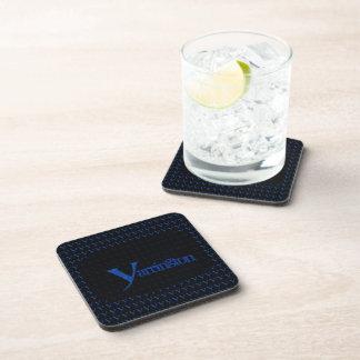 Y - El alfabeto de Falck (azul) Posavasos De Bebida