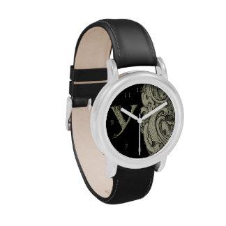 Y - El alfabeto de Falck (de oro) Reloj De Mano